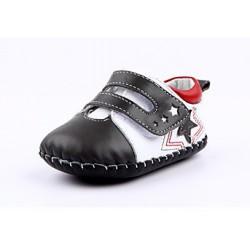 Topánky Freycoo s koženou podrážkou Wiliam sivé