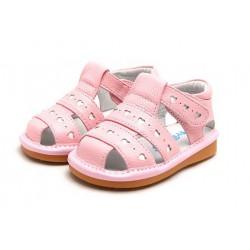 Kožené sandále Freycoo - Molly ružové