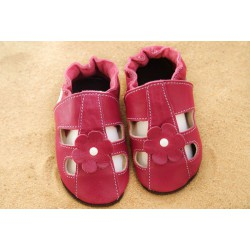 Kožené capačky Tomar - sandálky