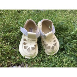 Baby Bare Shoes - IO Canary - Summer Perforation