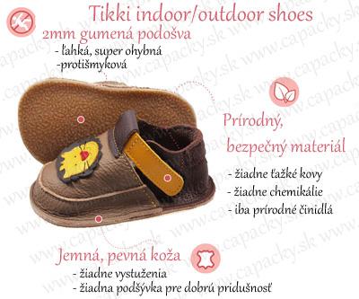 Tikki indoor - outdoor shoes