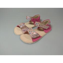 OK bare - barefoot sandálky MIRRISA D203 Fuxia  - podošva Cross 4mm