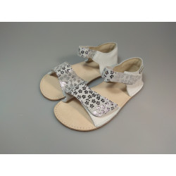OK bare - barefoot sandálky MIRRISA D203 Silver