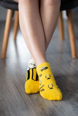 Barefoot ponožky krátke - Pivo