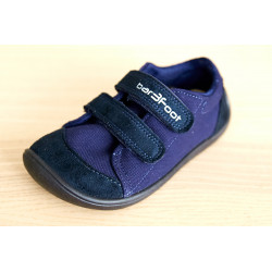 3F barefoot tenisky - tmavomodé