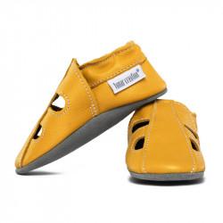 Kožené capačky Tomar - sandálky - jednofarebné - Girasolle S