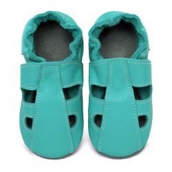 Kožené capačky Tomar - sandálky - jednofarebné - Caraibi S