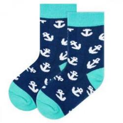 Detské ponožky kotvy