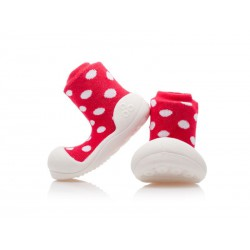 Detské topánočky Attipas Polka - Red