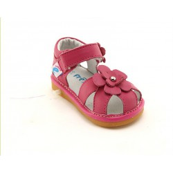 Kožené sandále Freycoo - Romana ružové