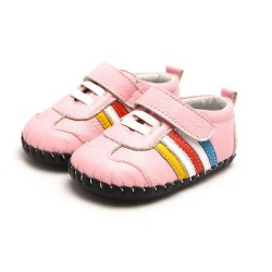 Topánky Freycoo s koženou podrážkou Izzy ružové