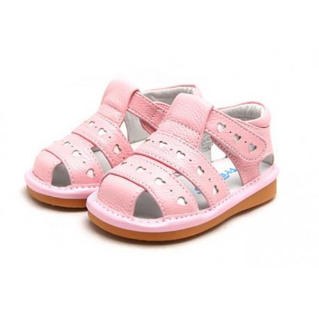 39043228cbbb Freycoo - Kožené sandále pre deti