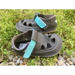 Baby Bare Shoes - IO Blue Beetle - Summer Perforation