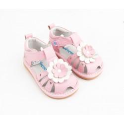 Kožené sandále Freycoo - Martina ružové