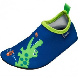 Topánky do vody Playshoes - Slippers Crocodile