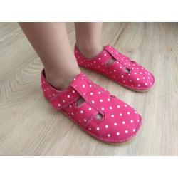 ANATOMIC - barefoot papuče raspberry