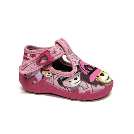 Papuče Renbut ružové psíky