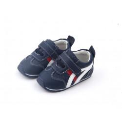 Freycoo Baby topánky s gumenou podrážkou - Oskar modré