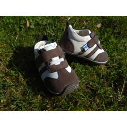 Freycoo Baby topánky s gumenou podrážkou - Marko sivé