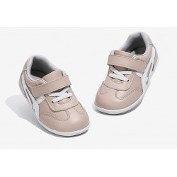 Freycoo - kožené topánky Oli ružové