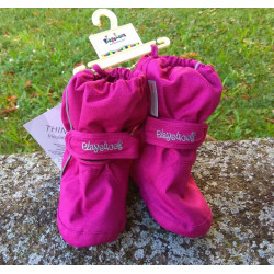 Playshoes Thermo bootie - ružová beere