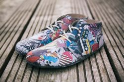 Barefoot Be Lenka Elegance celoročné - Colored Crushed Comics
